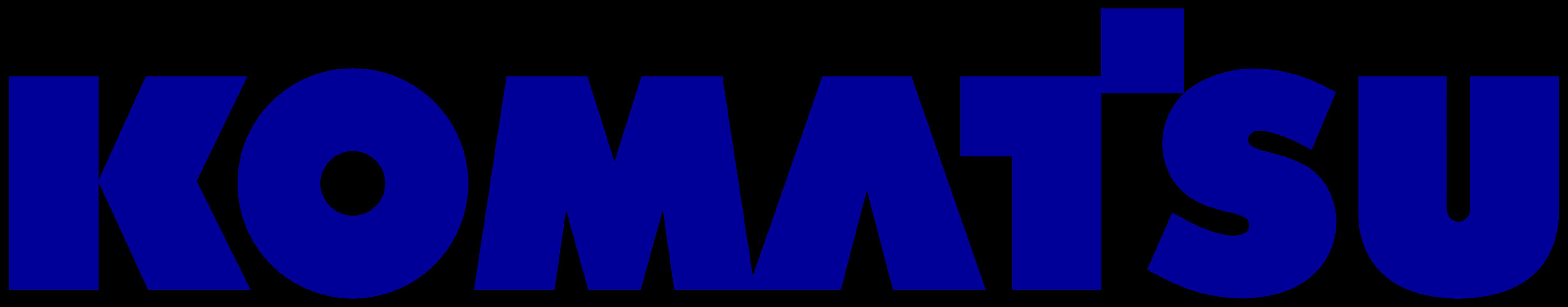 коматсу лого