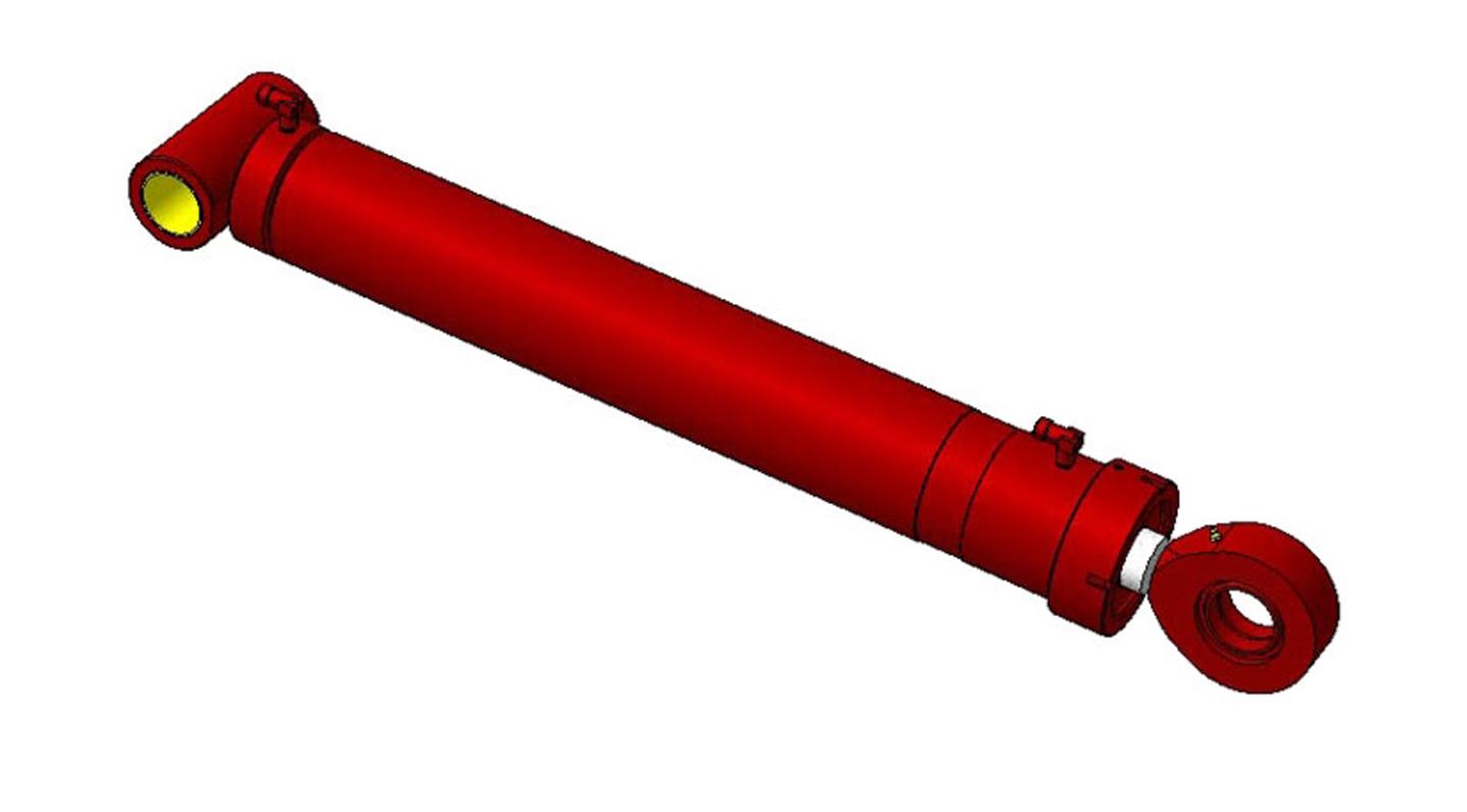 гидроцилиндр для рукояти