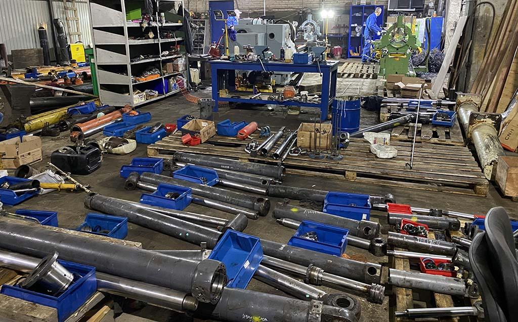 Цех по ремонту гидравлических цилиндров